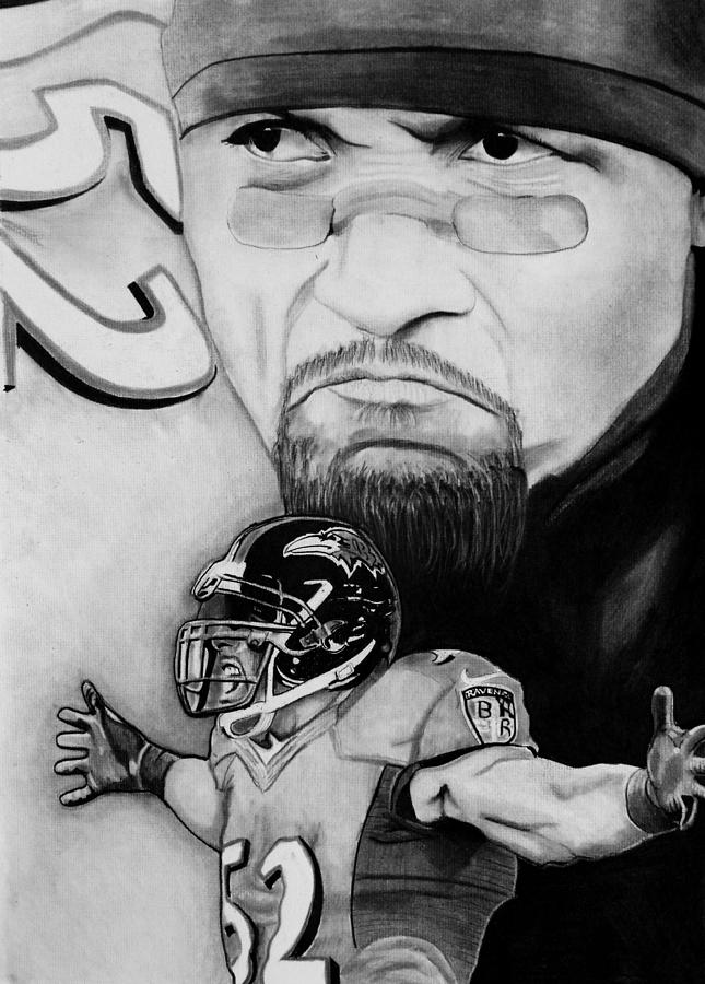 Ray Lewis Drawing  - Ray Lewis Fine Art Print