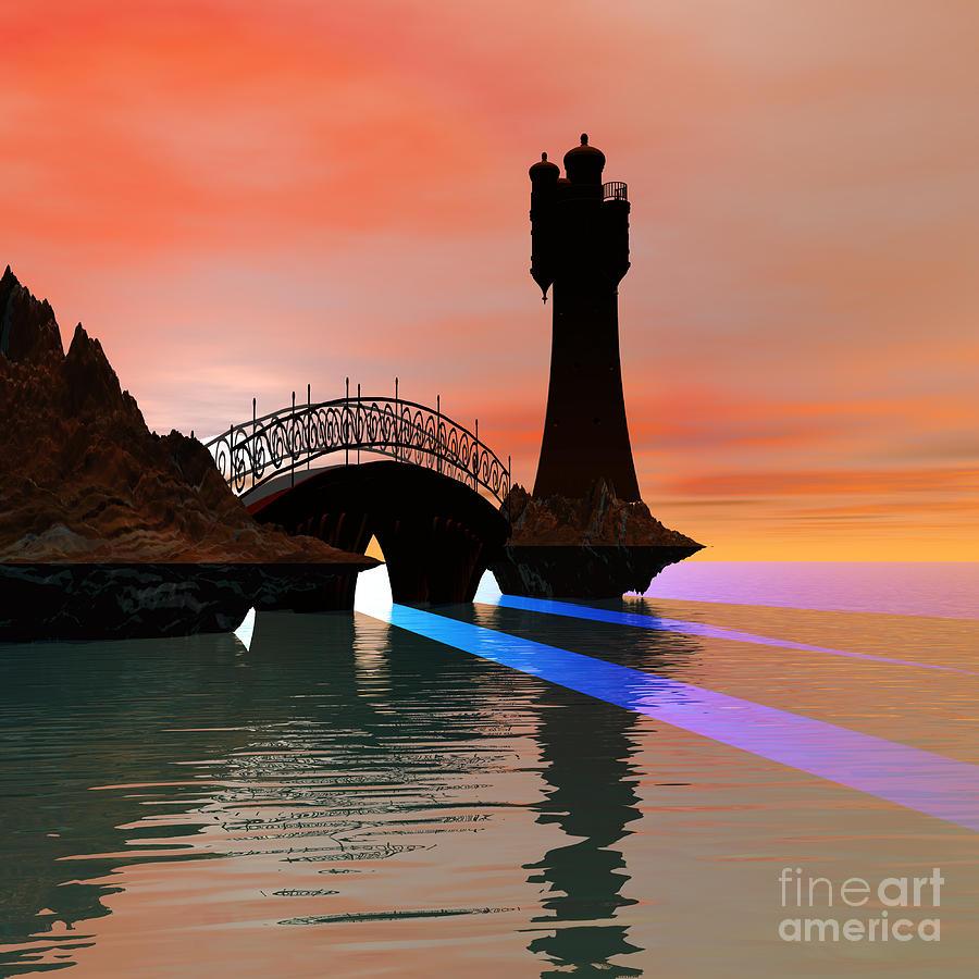Rays Painting