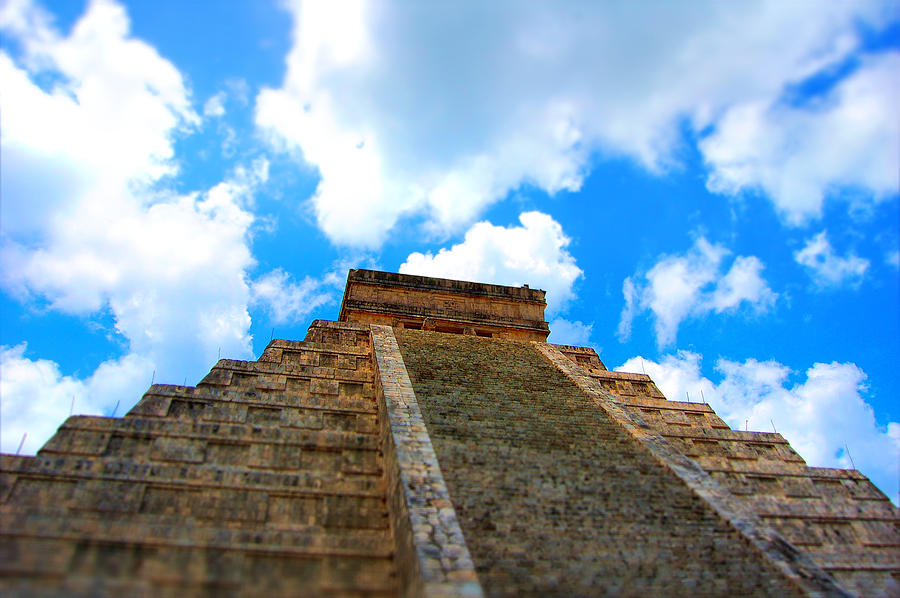 Mayan Photograph - Reac For The Sky by Jame Hayes