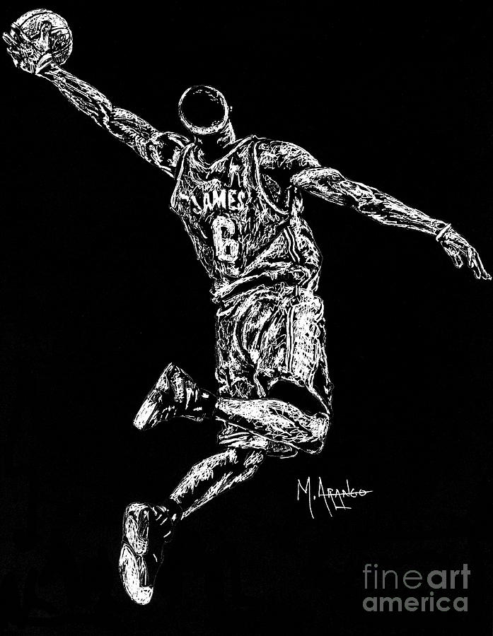 Reaching For Greatness Drawing
