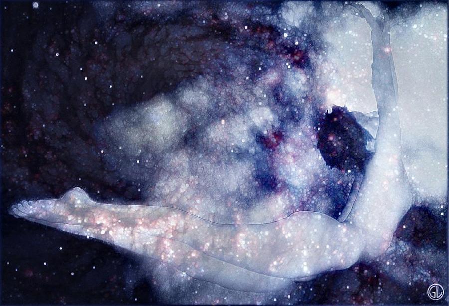 Skyscape Digital Art - Reaching The Stars by Gun Legler