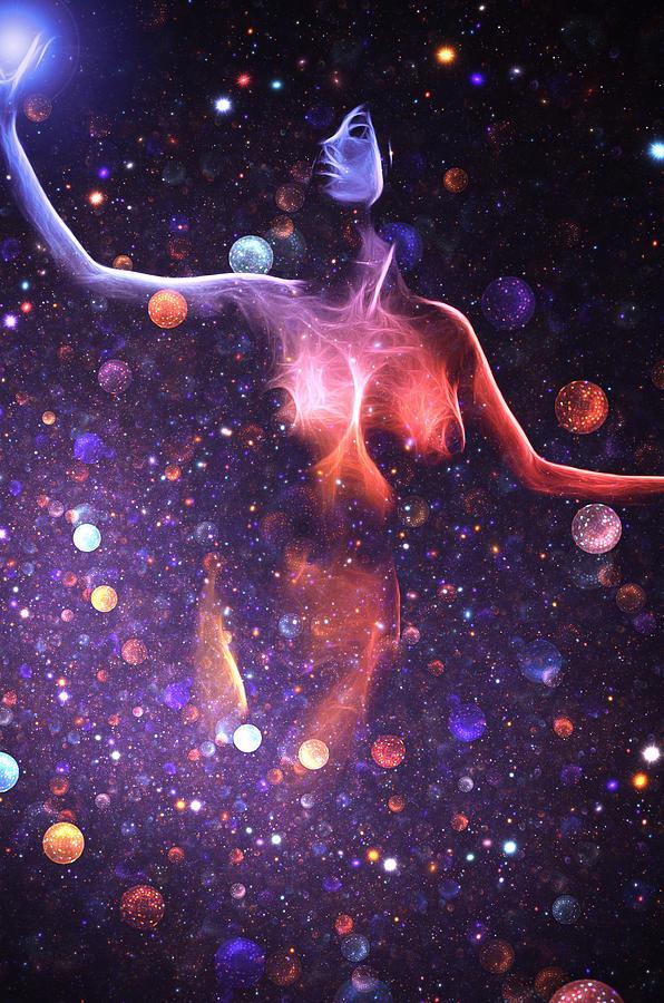 Reaching The Stars Digital Art