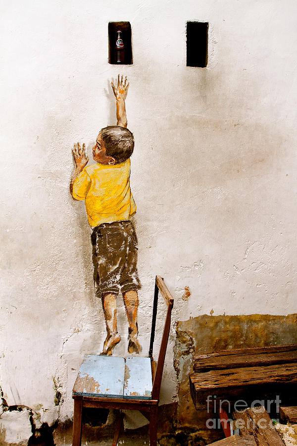 Reaching Up Photograph