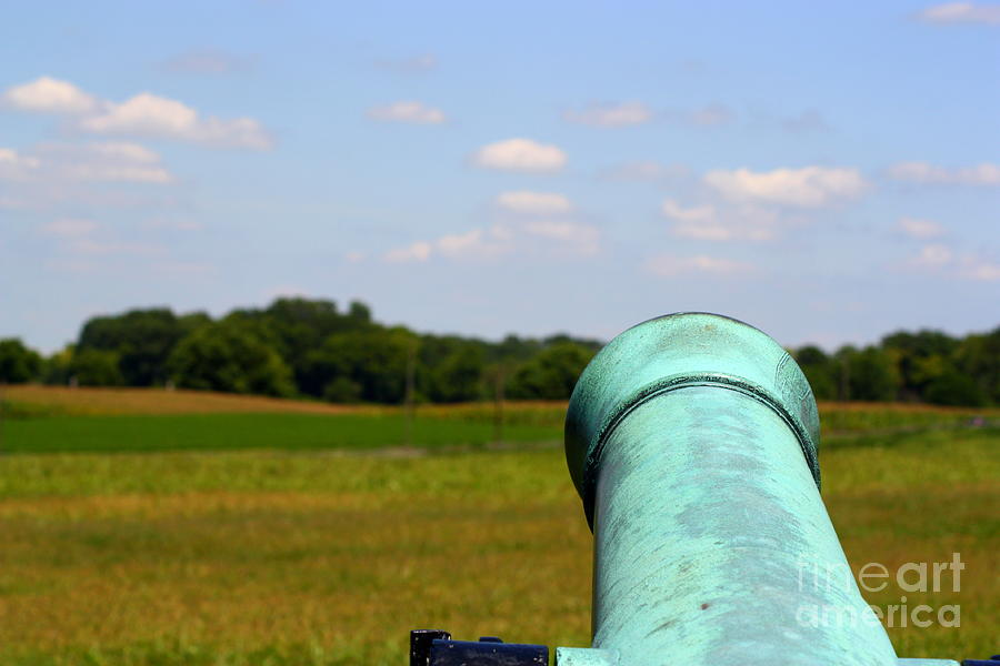 Cannon Photograph - Ready Aim Fire by Patti Whitten