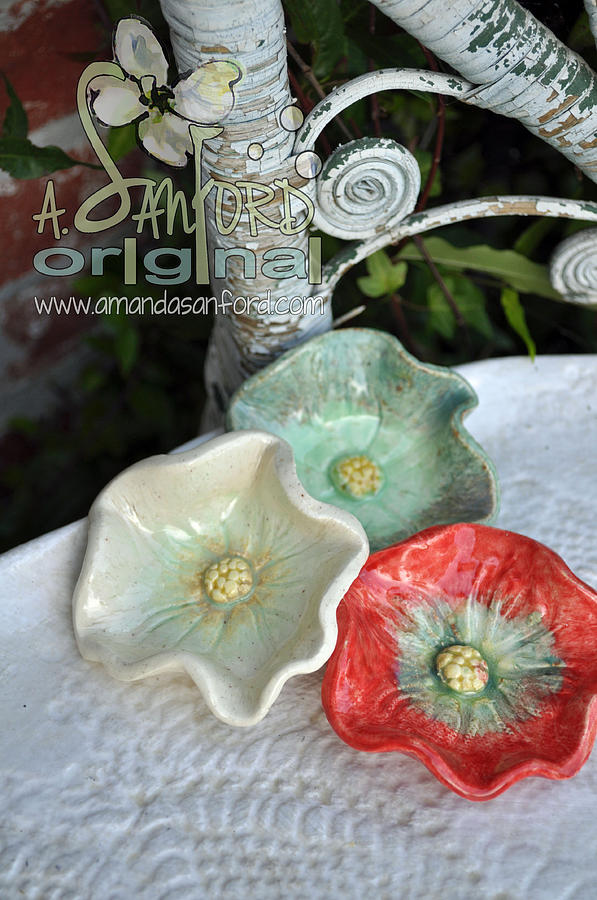 Poppy Sculpture - Ready Get Set by Amanda  Sanford