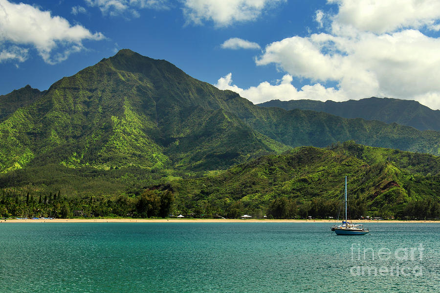 Ready To Sail In Hanalei Bay Photograph