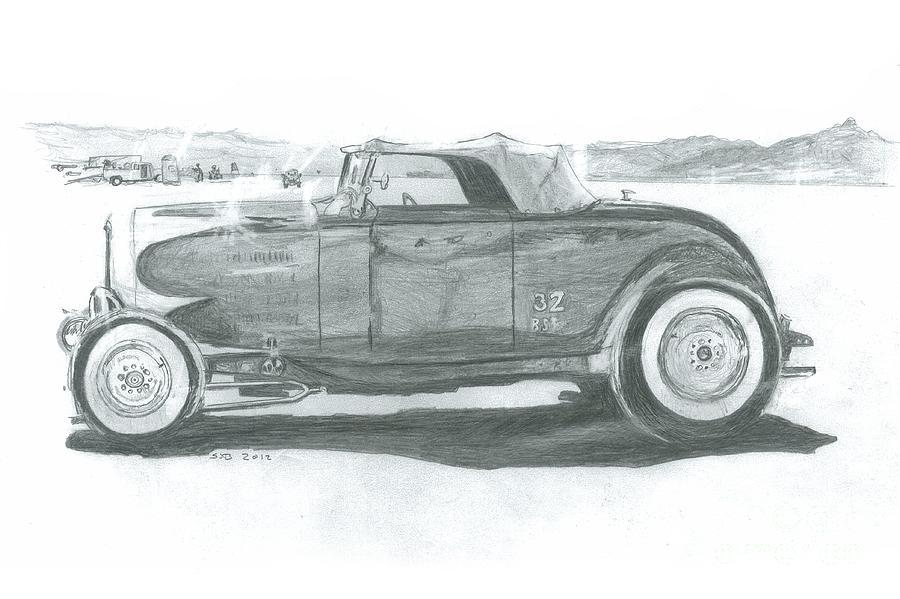 Real Car Guy...real Car Drawing