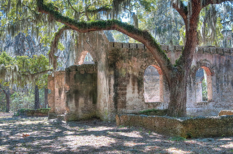 Rear View Of The Chapel Of Ease Photograph  - Rear View Of The Chapel Of Ease Fine Art Print