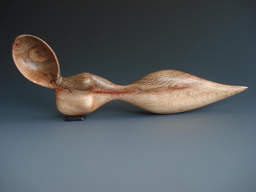 Reclining Nude Spoon Sculpture
