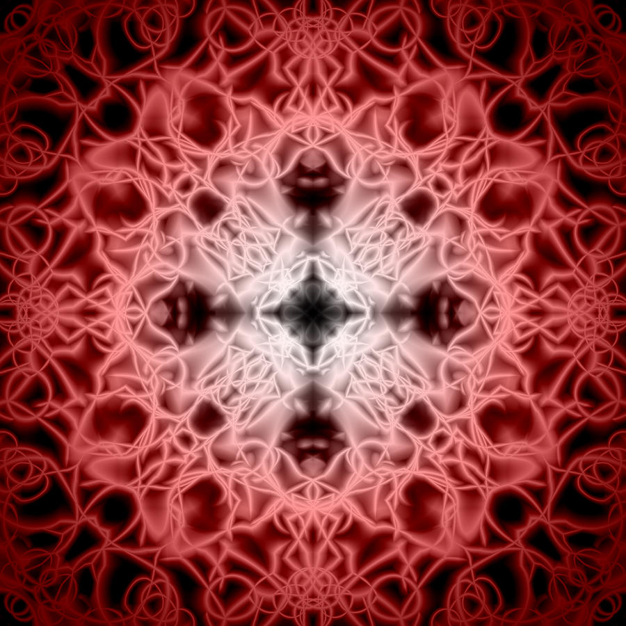 Red Digital Art