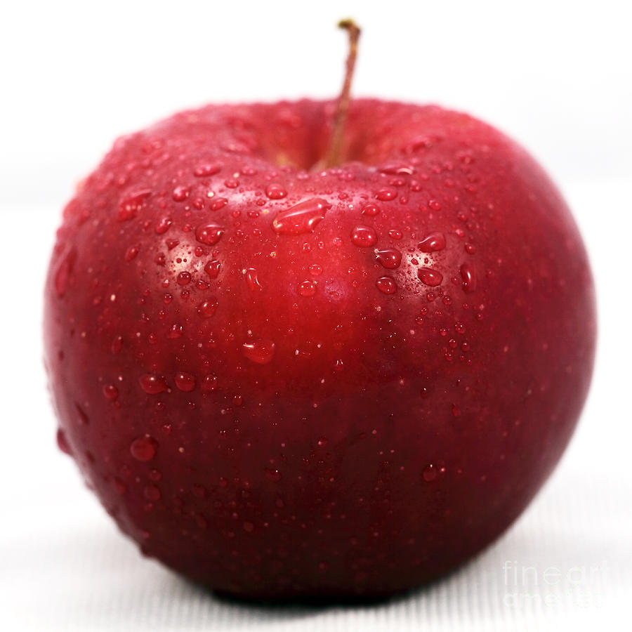 Red Apple Photograph