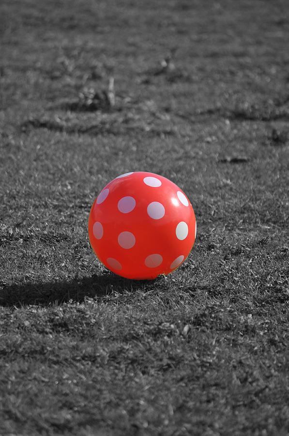 king com red ball