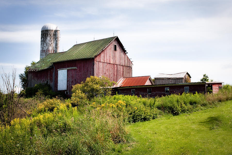 Red Barn In Groton Photograph