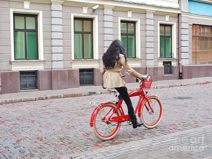 Red Bike Photograph