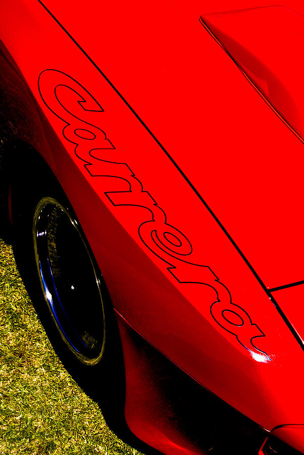 Red Carrera Photograph  - Red Carrera Fine Art Print