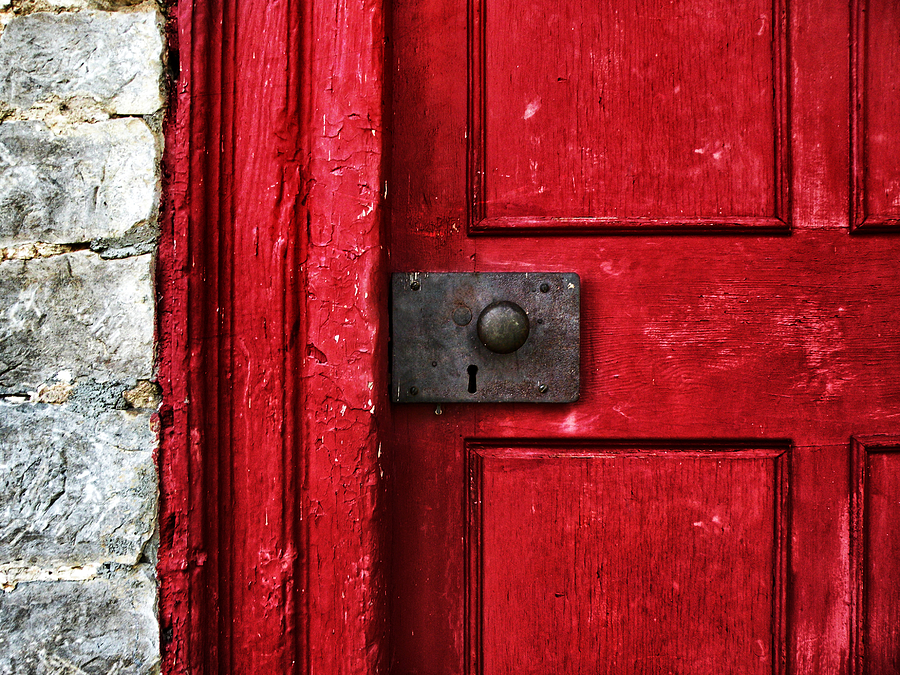 Red Door Photograph