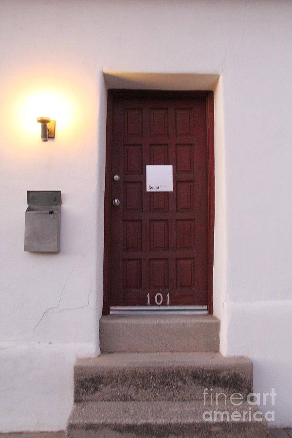 Red Doors Of Tucson Photograph