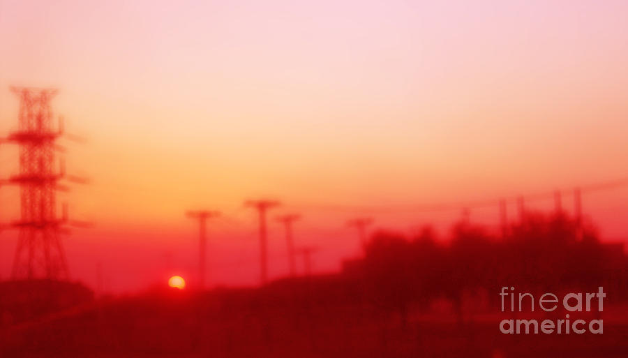 Red Dusk Photograph
