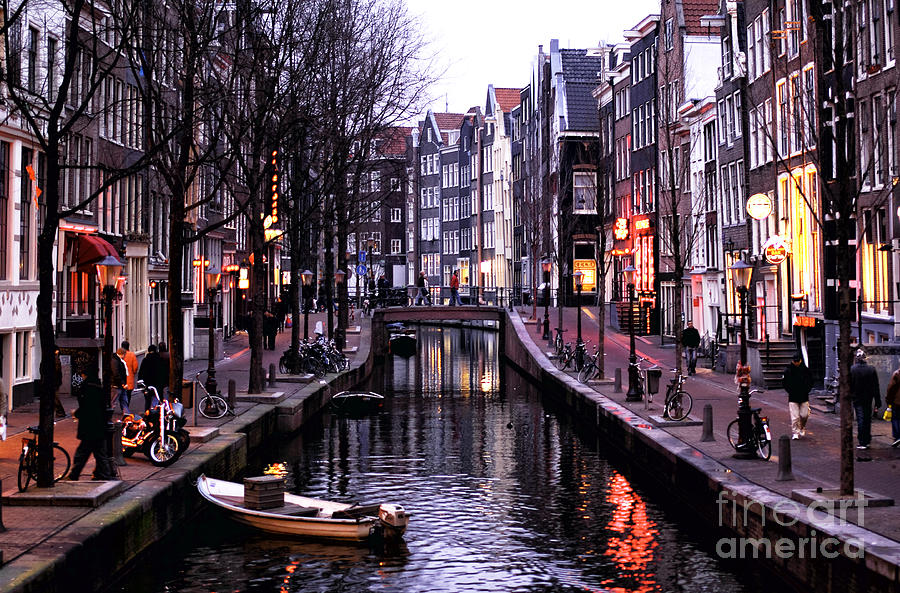 Red Light District Photograph  - Red Light District Fine Art Print