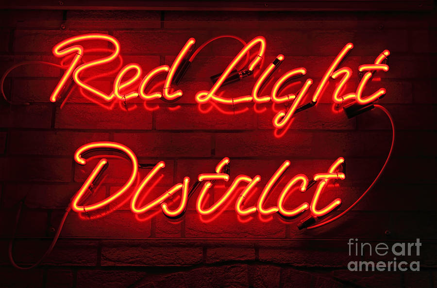 Red Light District Photograph