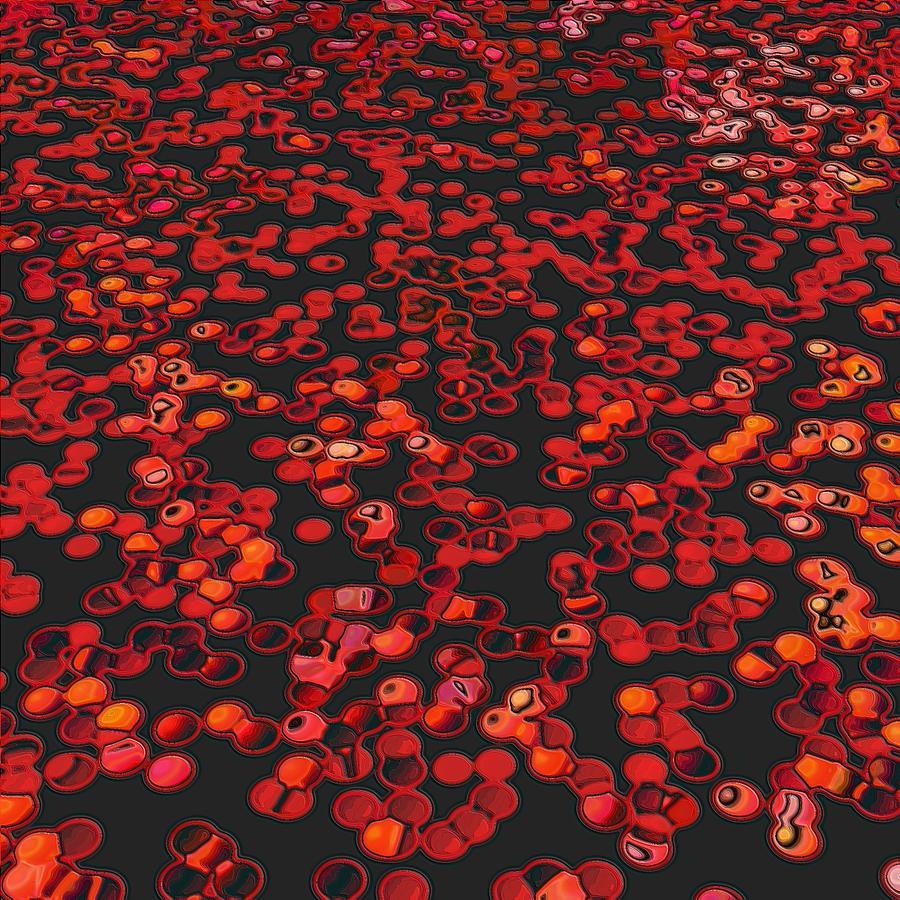 Red Matter/orgasmic Symbolism Pastel