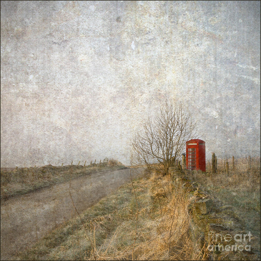 Red Phone Box Photograph  - Red Phone Box Fine Art Print