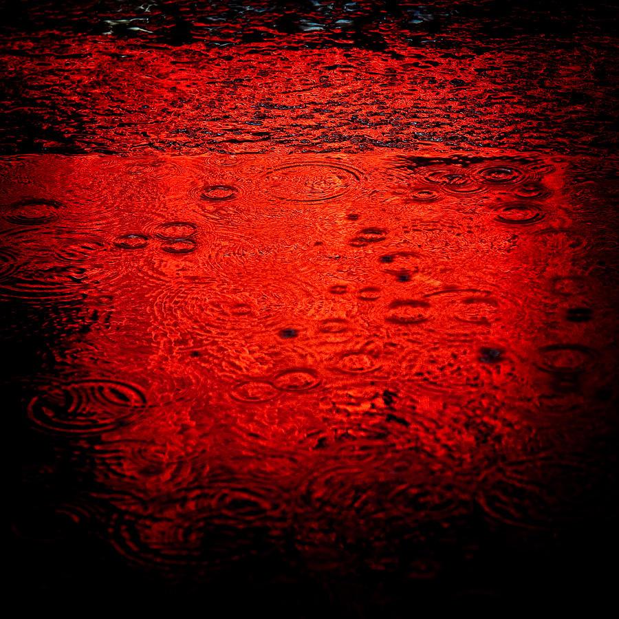 Red Rain Photograph