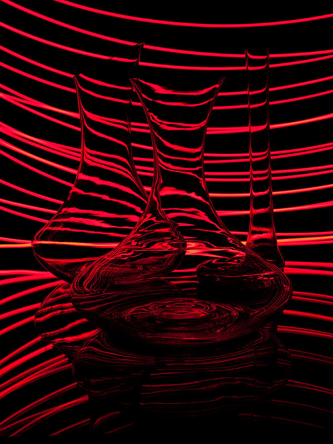 Red Rhythm IIi Photograph