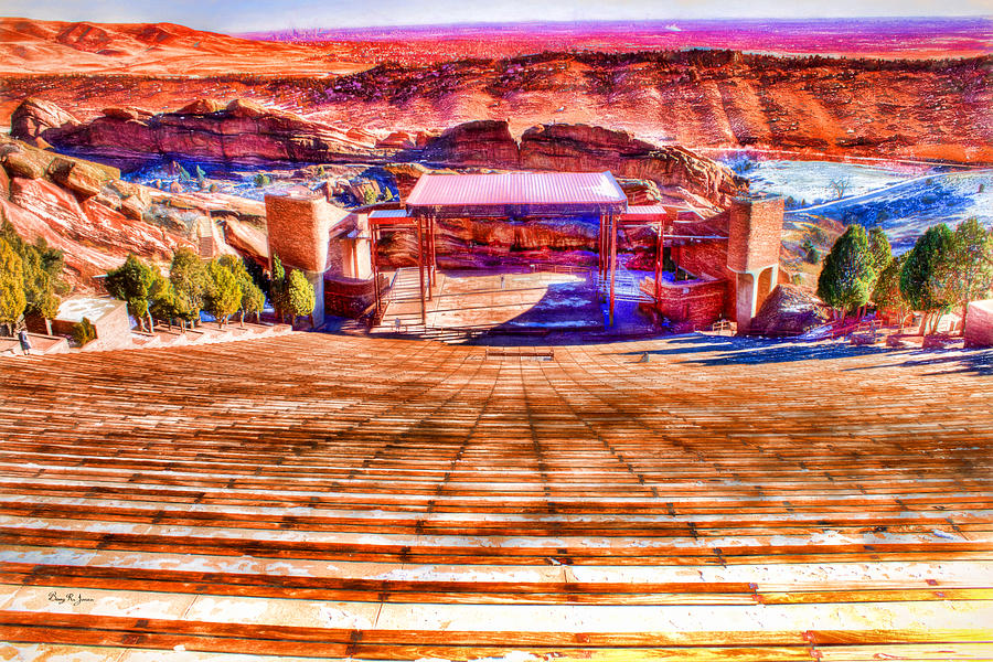 Red Rock Amphitheater Photograph  - Red Rock Amphitheater Fine Art Print