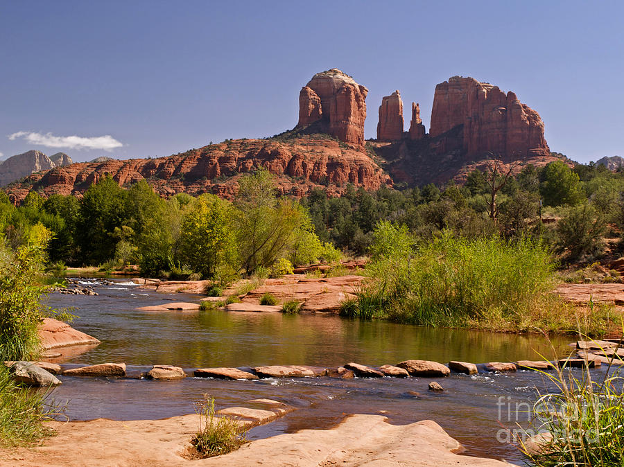 Red Rock Crossing Photograph  - Red Rock Crossing Fine Art Print