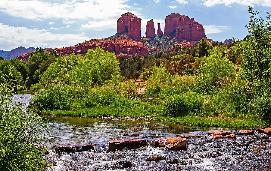 Red Rock Crossing -  Sedona Arizona Usa Photograph