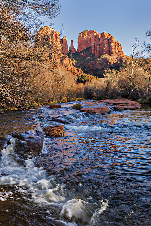 Red Rock Crossing Winter Photograph