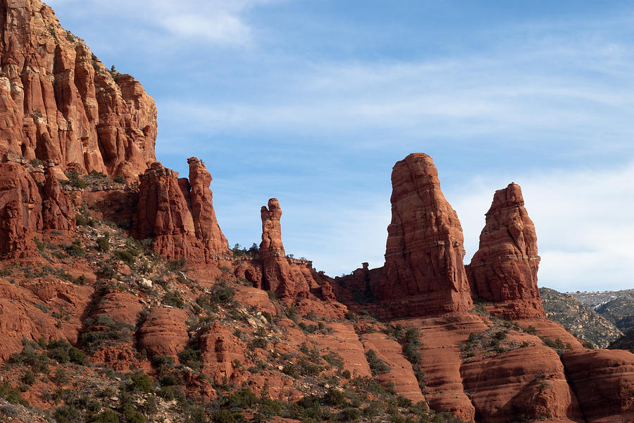Red Rocks In Sedona Photograph  - Red Rocks In Sedona Fine Art Print