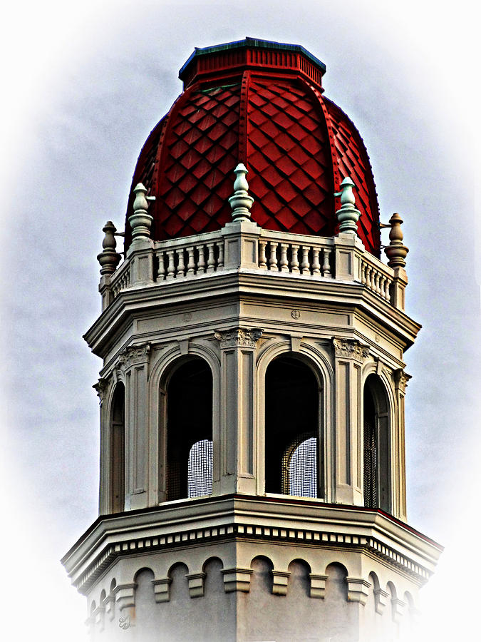 Red Rotunda Photograph