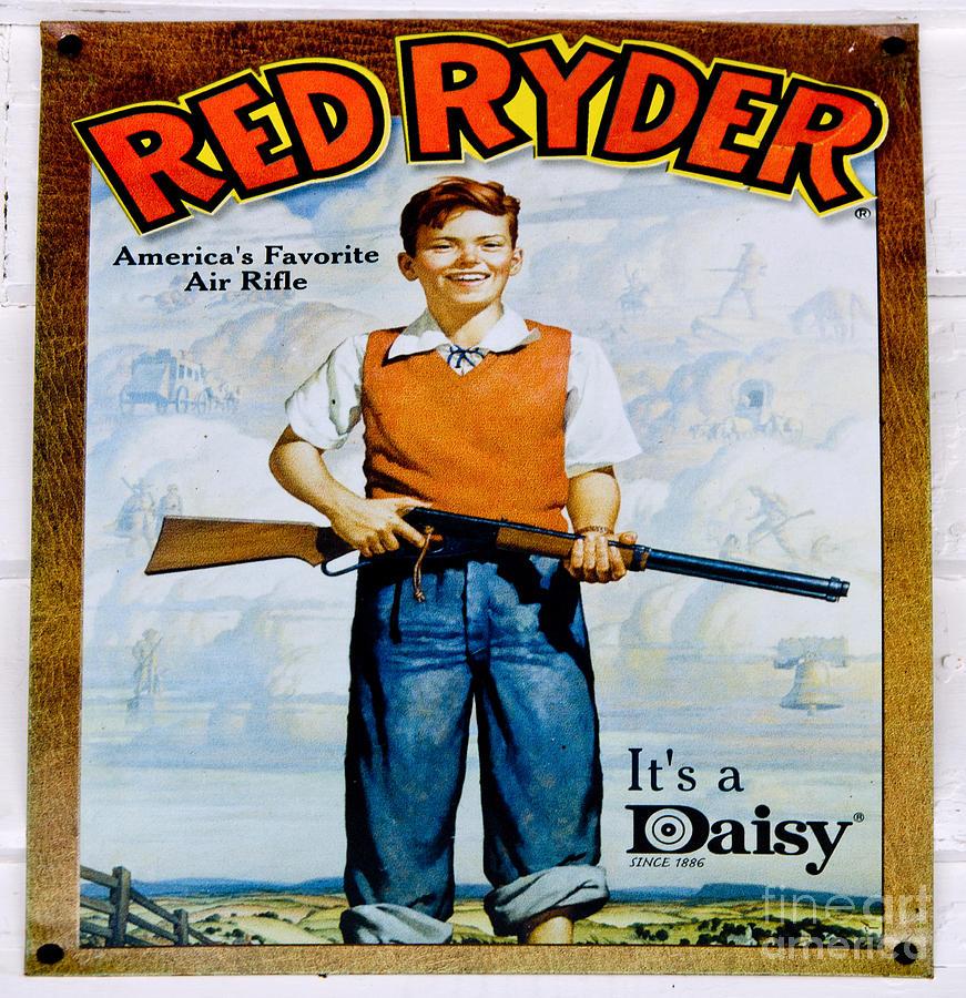 Red Ryder Bb Gun Photograph By Paul Mashburn