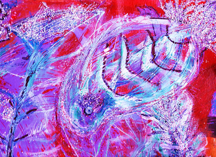 Red Sea Mystery Fish Mixed Media