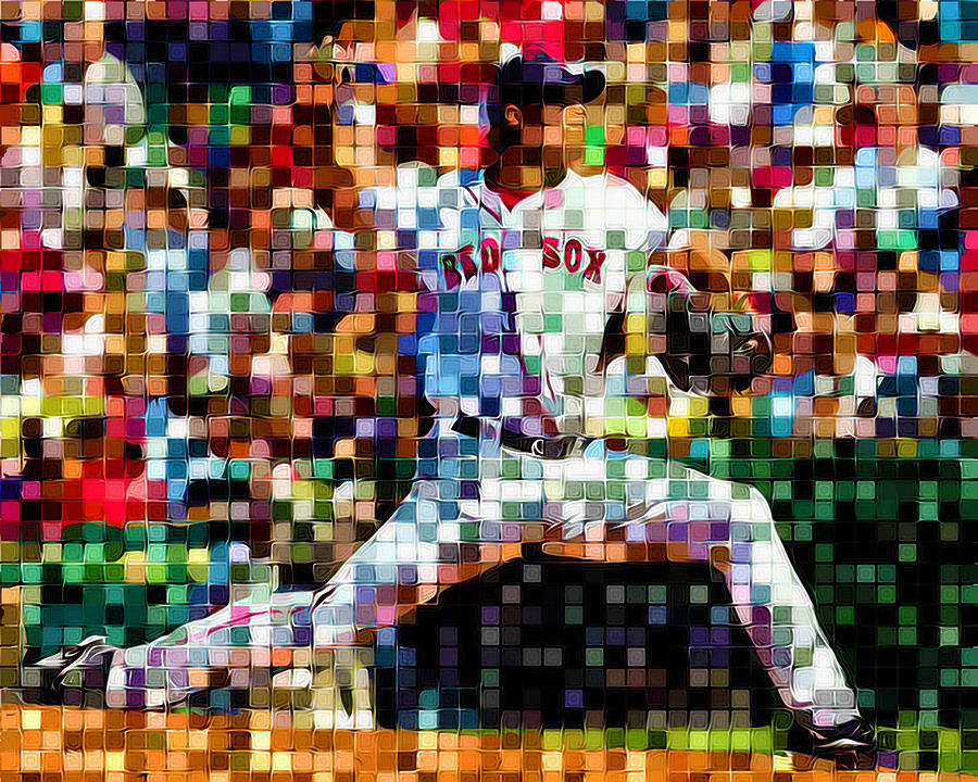 Red Sox Nation Digital Art  - Red Sox Nation Fine Art Print