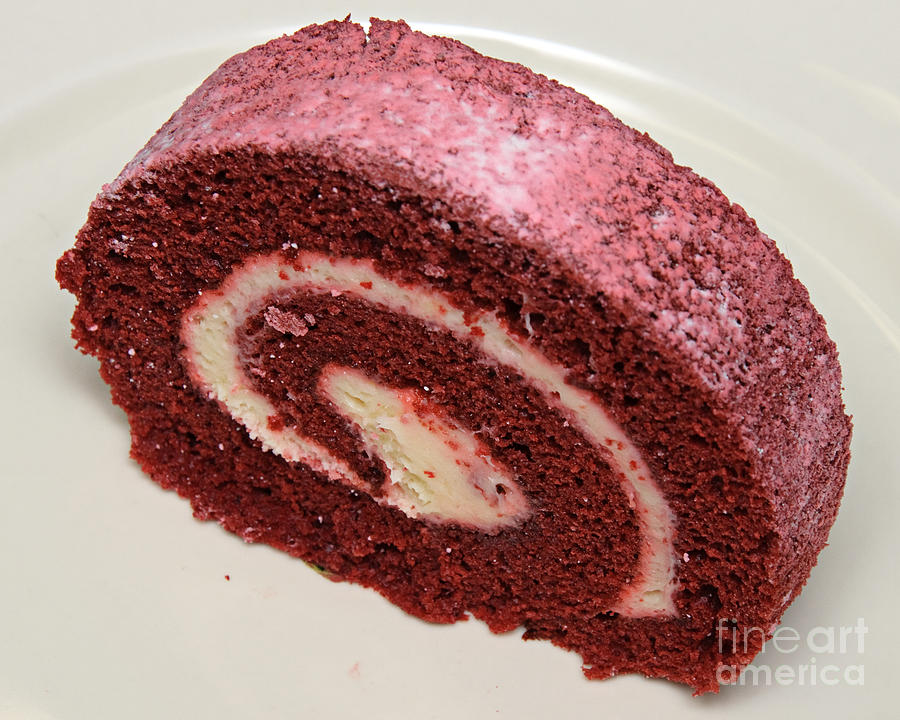 Cake Roll Art : Red Velvet Cake Roll Recipe   Dishmaps