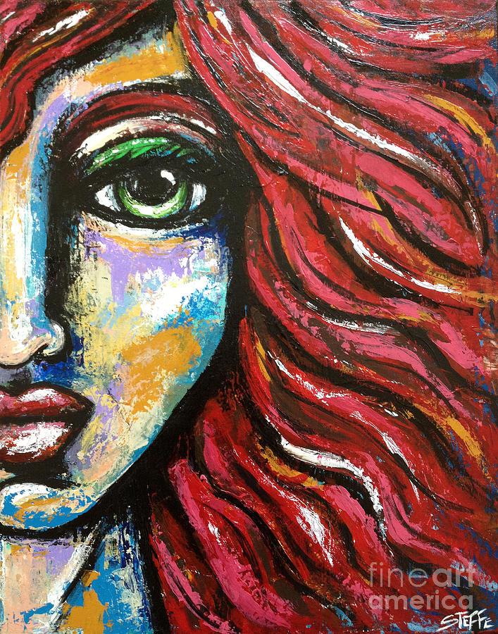 Redhead Digital Art