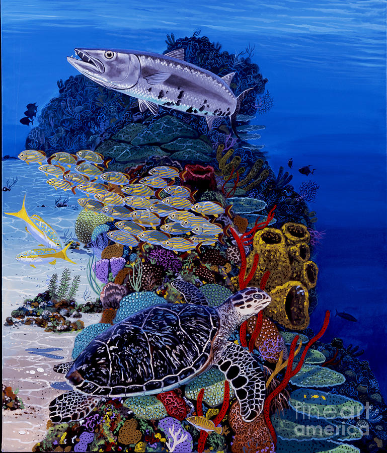 Reefs Edge Re0025 Painting