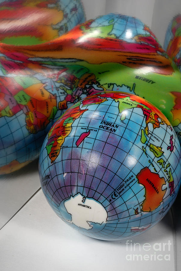 Reflected Globe Photograph