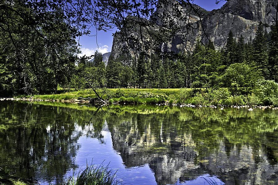 Usa Photograph - Reflecting On Yosemite by LeeAnn McLaneGoetz McLaneGoetzStudioLLCcom