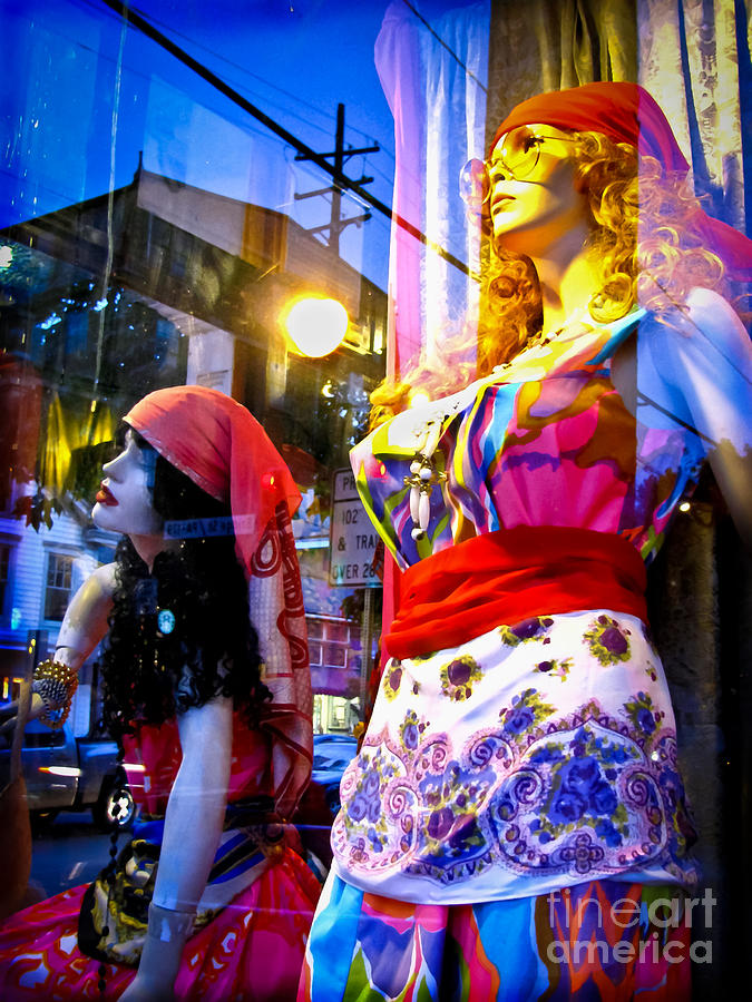 Reflections In The Life Of A Mannequin Photograph