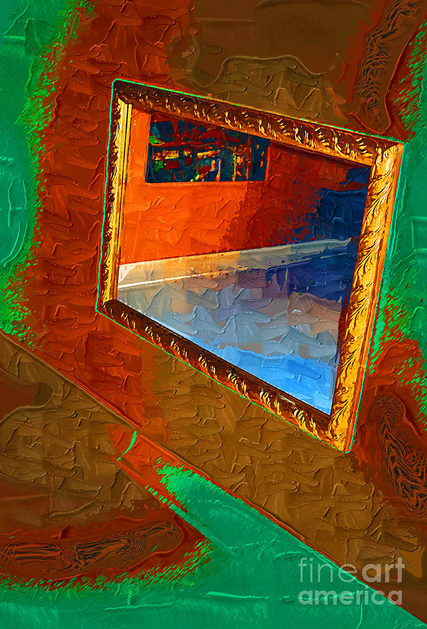 Reflections In The Mirror Painting