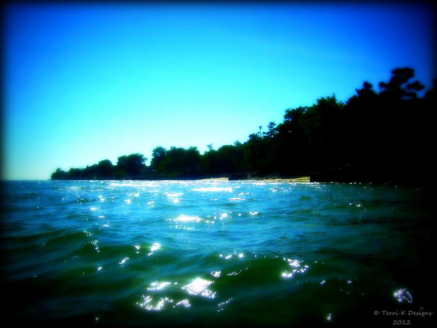 Reflective Water Photograph