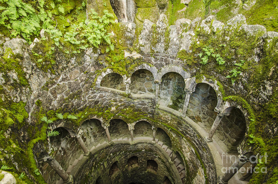 Regaleira Initiation Well 2 Photograph  - Regaleira Initiation Well 2 Fine Art Print