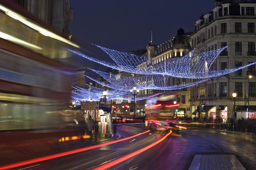 Regent Street Lights Photograph