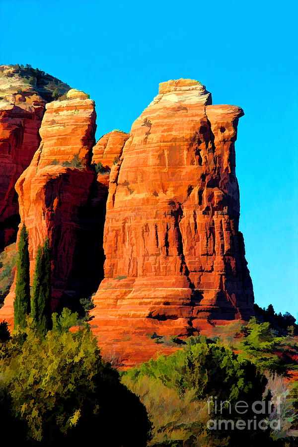 Sedona Photograph - Regular Or Decaf? by Jon Burch Photography