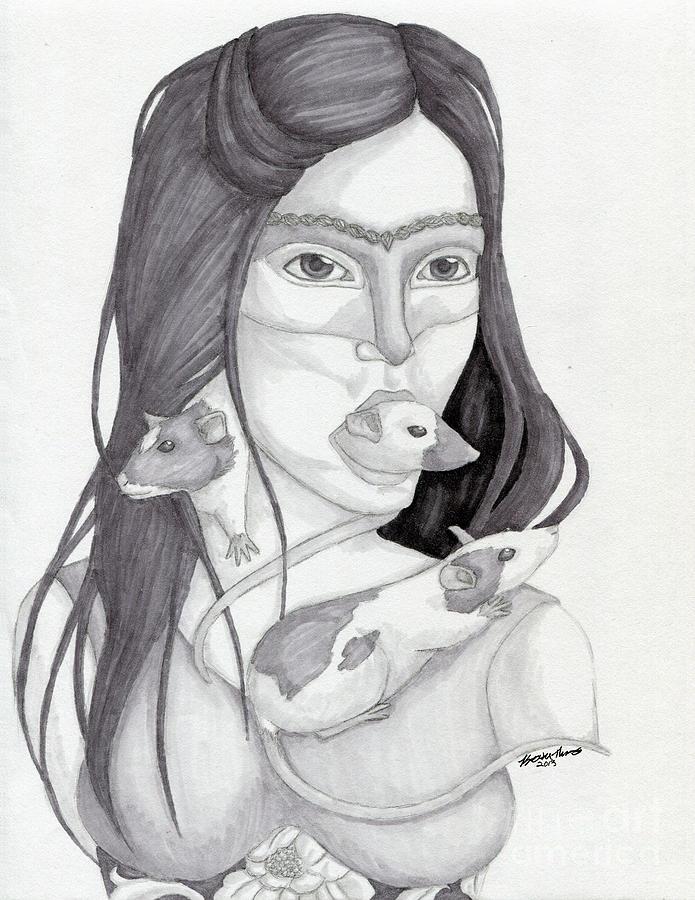 Release The Inner Spirit Drawing