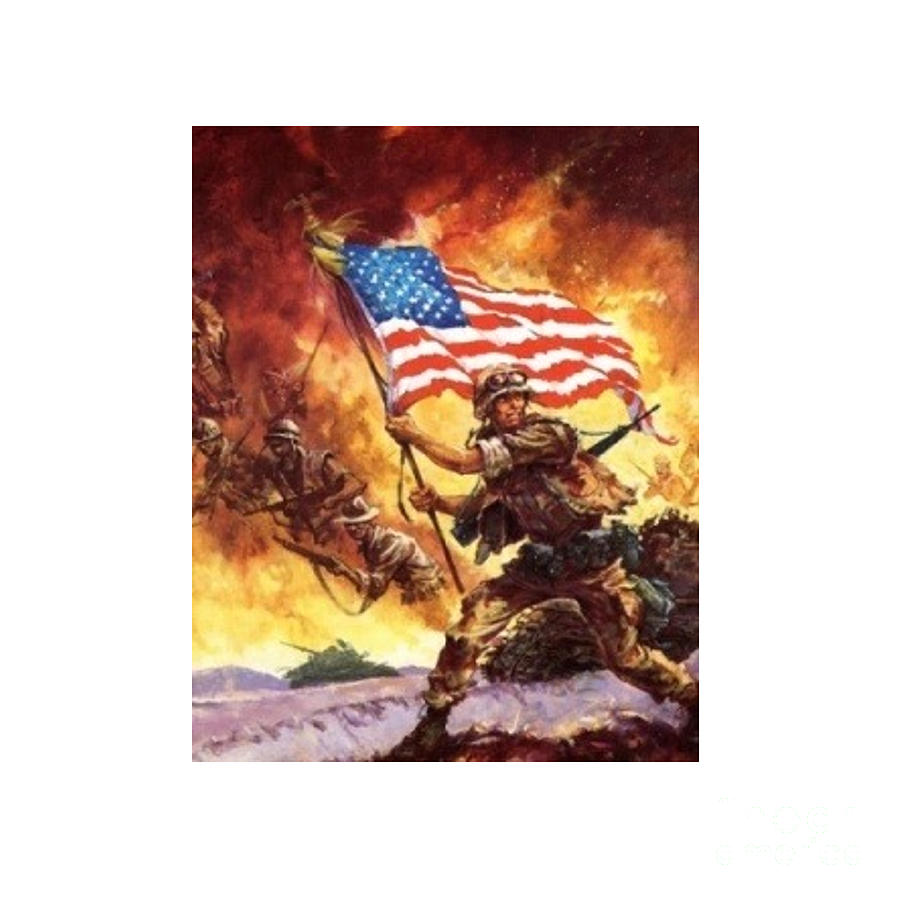Remember Our Veterans Digital Art  - Remember Our Veterans Fine Art Print